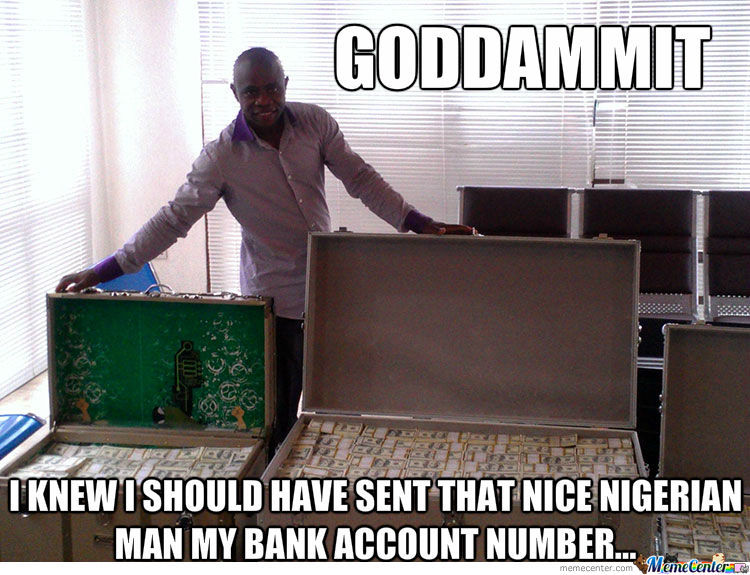 Nigerian Prince Emails