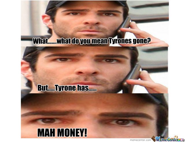 Nigga Stole Mah Money!