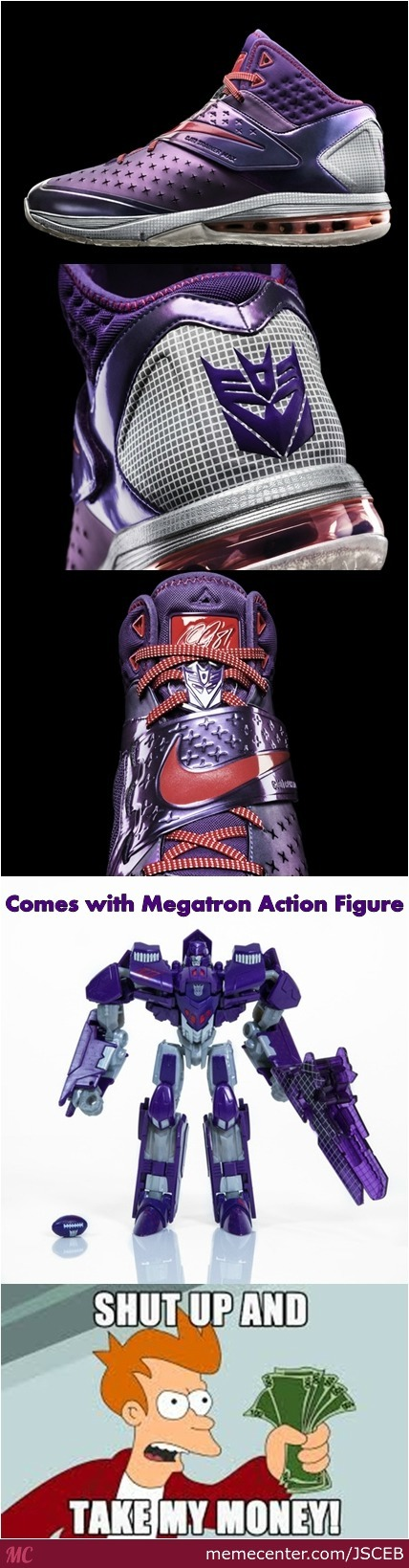 Nike Megatron Shoes