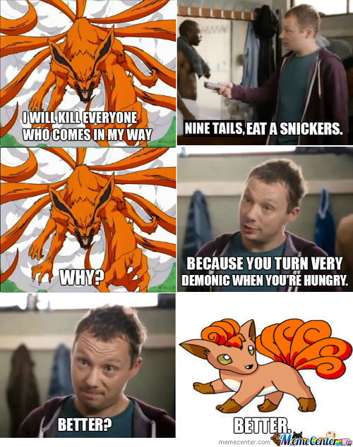 Nine Tails, Eat A Snikers