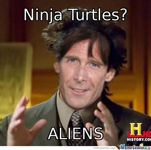 Ninja Turtles + Micheal Bay