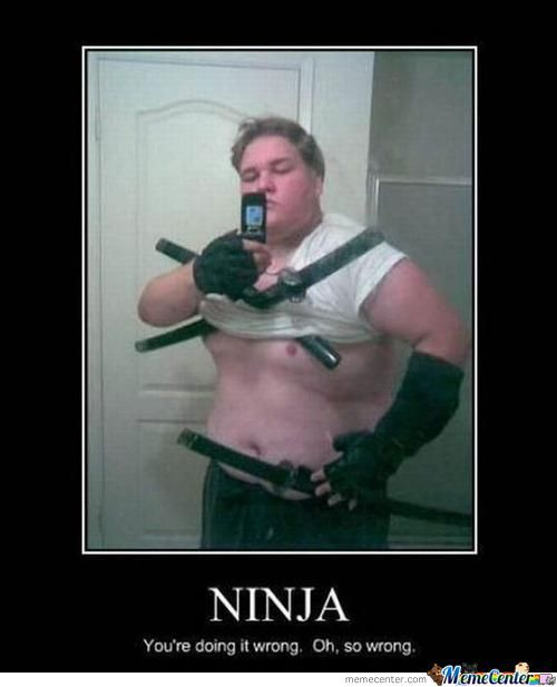 Ninja Your Doing It Wrong