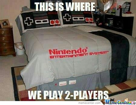 Nintendo Bed Win