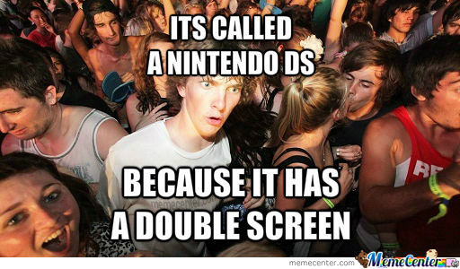 Nintendo Double Screne