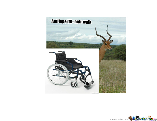 Nl=Antilope Uk=Antiwalk