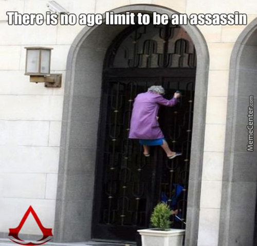 No Age Limit To Be An Assassin