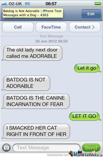 No Batdog..no...god Noooo!
