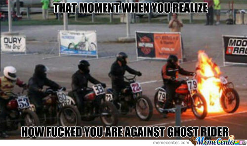 No Change To Win With Ghost Rider;