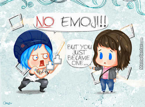 凸ಠДಠ)凸 No Emoji!! Hate It So Much, You Became One.
