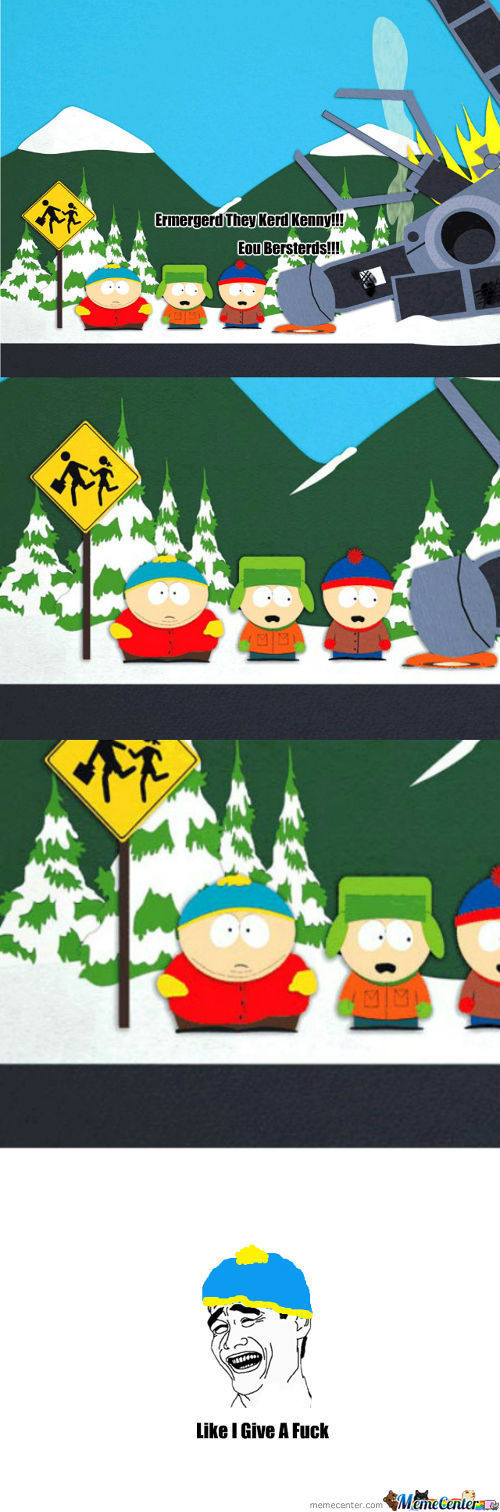 No Fu*ks Cartman