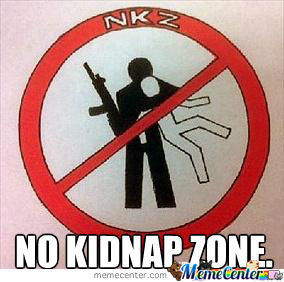 No Kidnap Zone