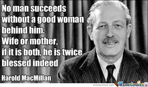 No Man Succeeds Without A ....