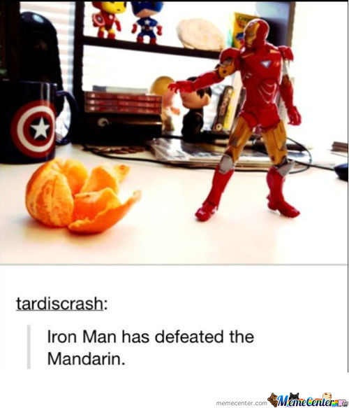 No Match For Iron Man