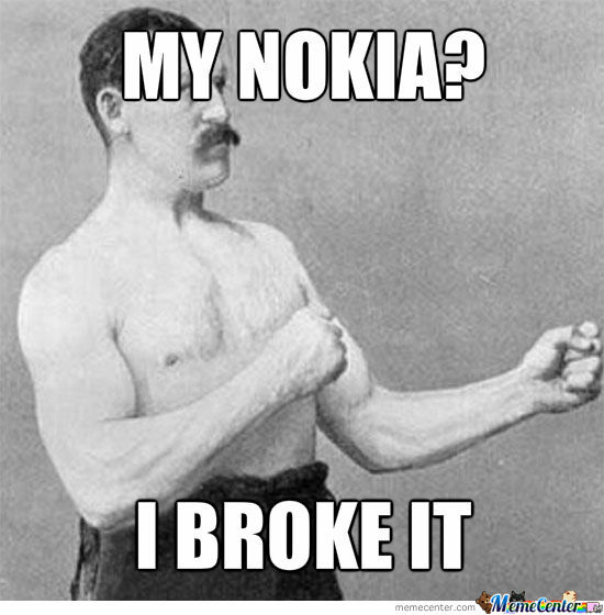 No Match For Nokia