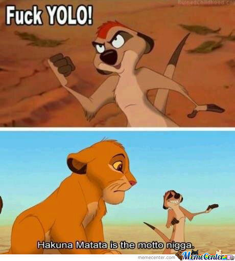 No More Yolo!