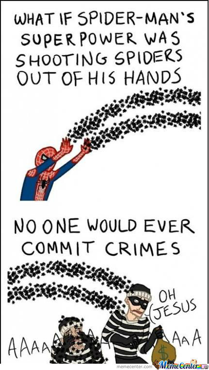 No One Would Ever Commit Crimes...