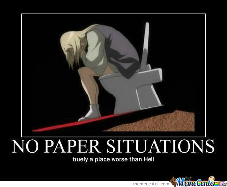No Paper Situation