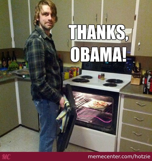 No Pizza For Me? Thanks, Obama!
