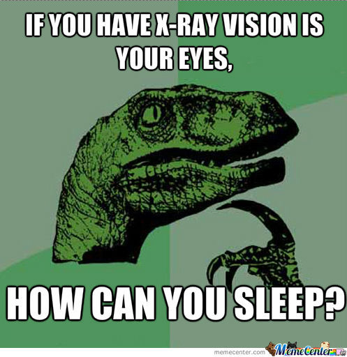 No Sleep....that'd Be A Terrible Thing.