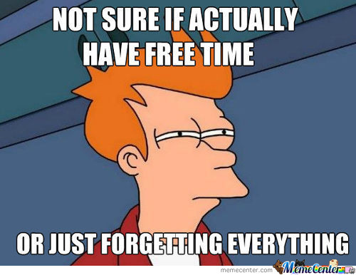 No Such Thing As Free Time