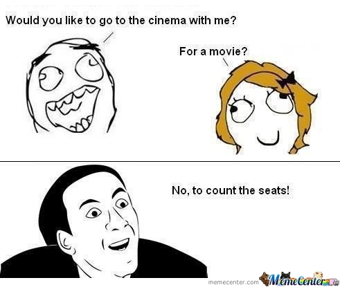 No,to Count The Seats!