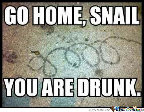 No You're Drunk! *hiccup*