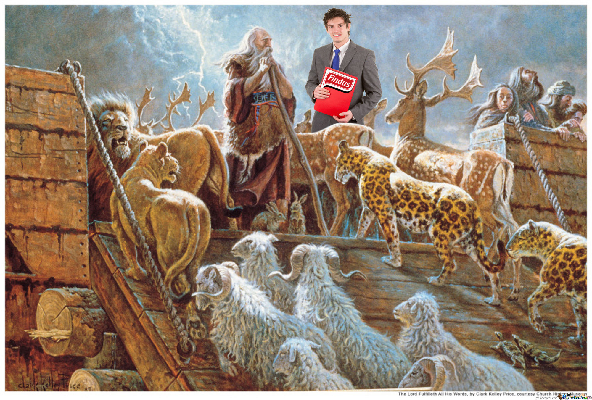 Noah's Ark Meat Scandal