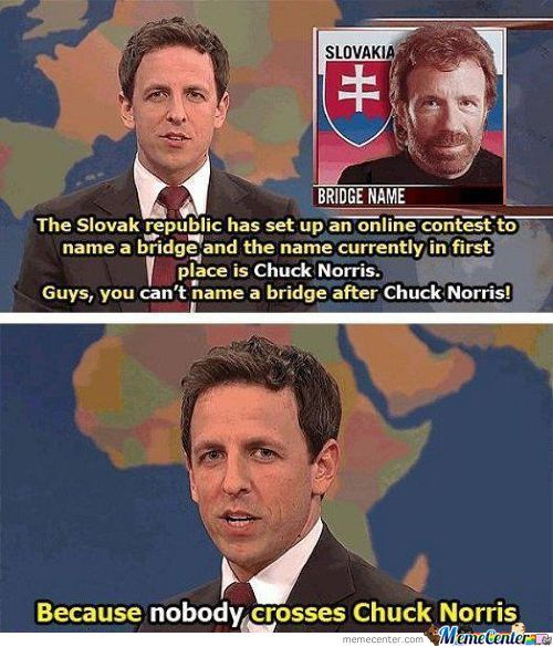 Nobody Crosses Chuck Norris