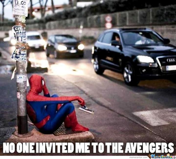 Nobody Invited Spiderman To Avengers