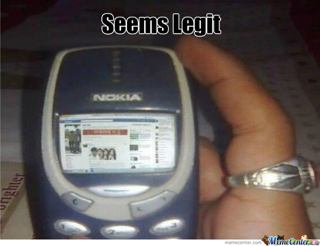 Nokia Seems Legit