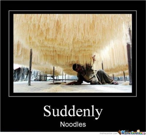 noodles everywhere
