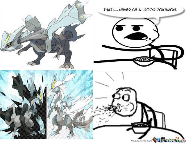 Normal, Black, & White Kyurem