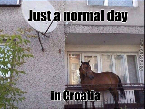 Normal Days In Croatia