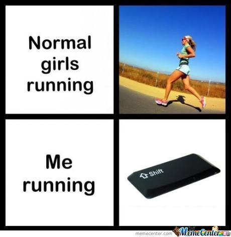 Normal Running, Bi*ch Pleas.