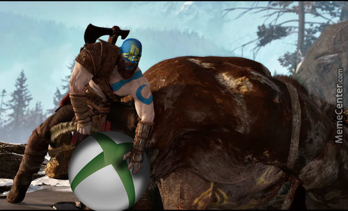 Norse God Of War>evrthing On Microsoft Press Conference