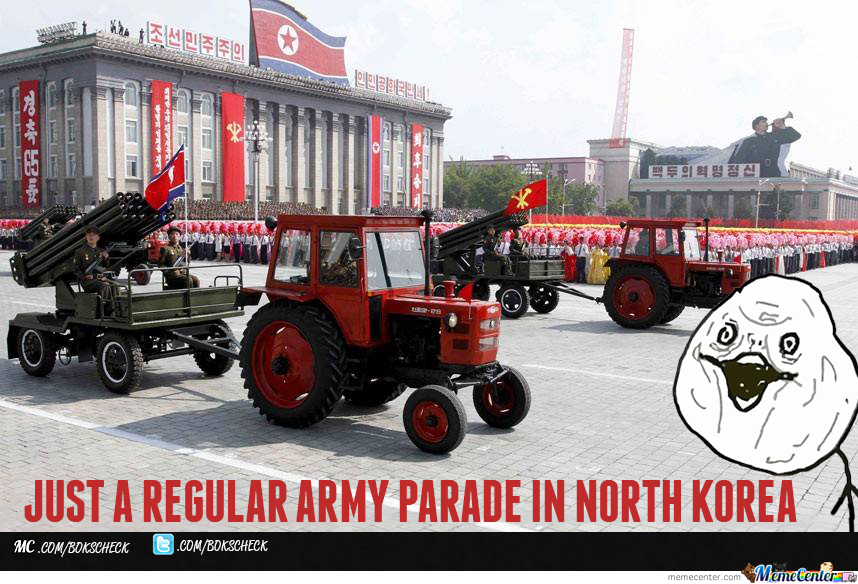 North Korea's Army Is So Hardcore