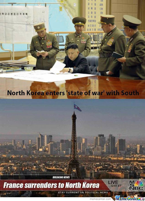 North Korea Vs France