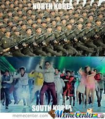 North Korea Vs. South Korea
