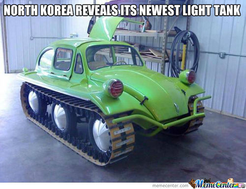 North Koreas Newest Tank