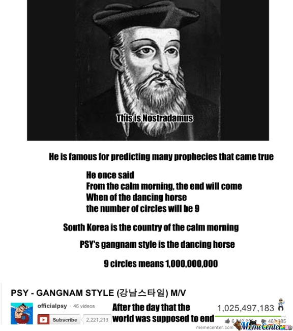 Nostradamus And Psy
