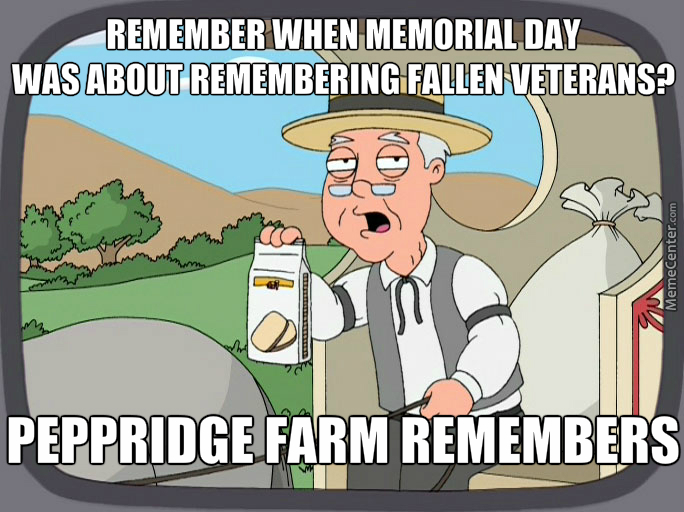 Not About Being Out Drinking For Three Days, Remember The Fallen.