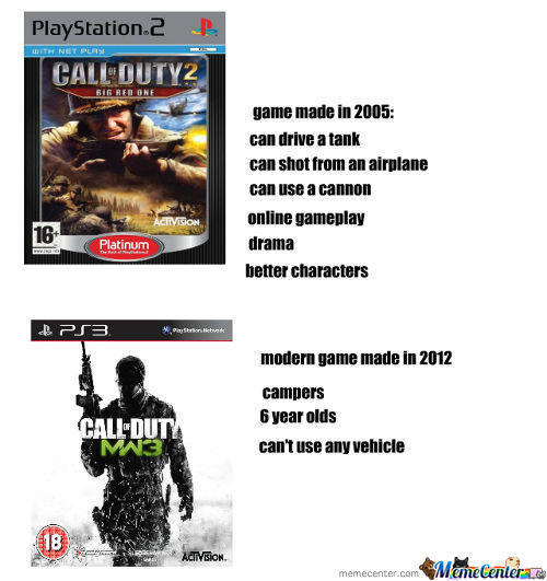 Not All Cal Of Duty Games Suck