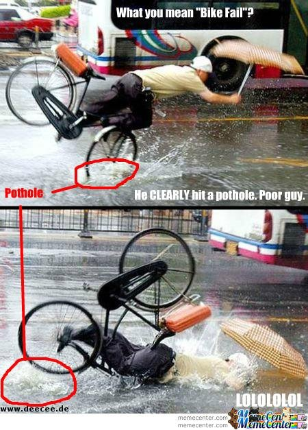 not bike fail