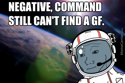 Not Even In Space.
