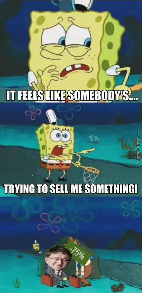 Not Even Spongebob Was Safe From The Sales