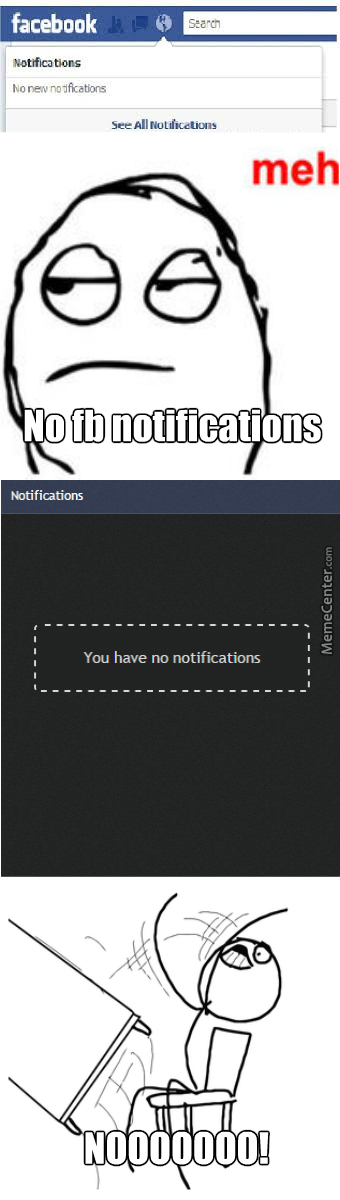 Not Getting Facebook Notifications Vs Memecenter Notifications