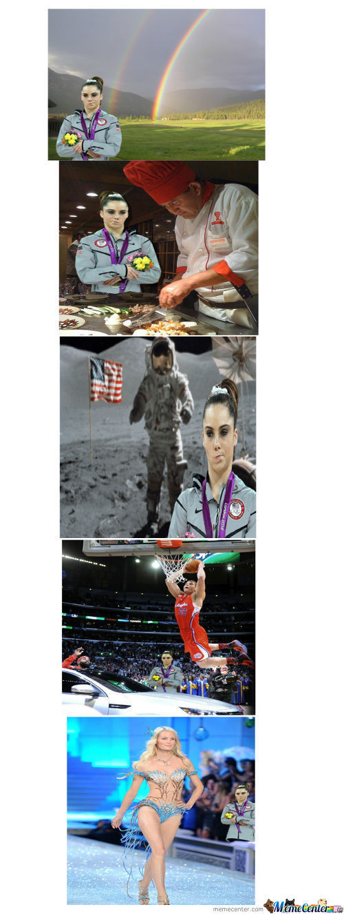 Not Impressed Mckayla Maroney
