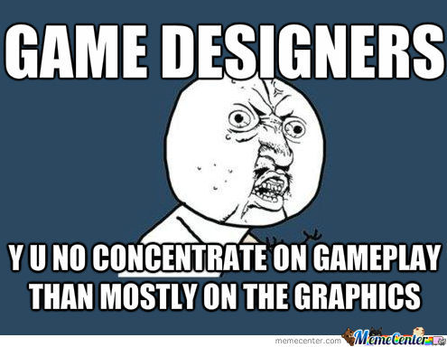 Not Many Great Game Because Too Much Concentration On Graphics Bower Days