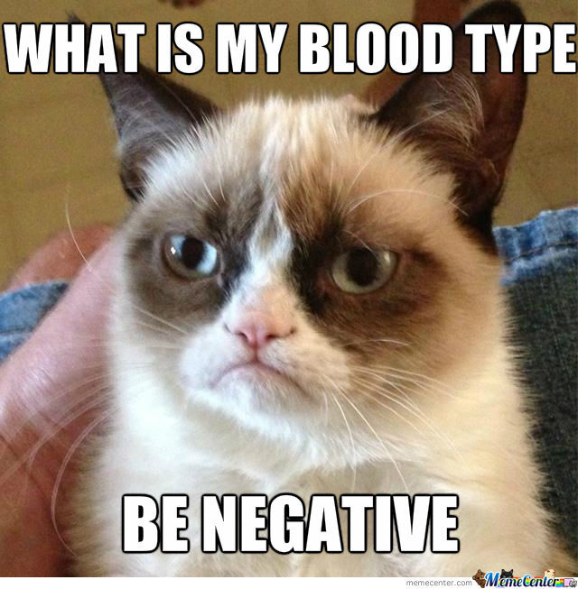 Grumpy Cat's Blood Type