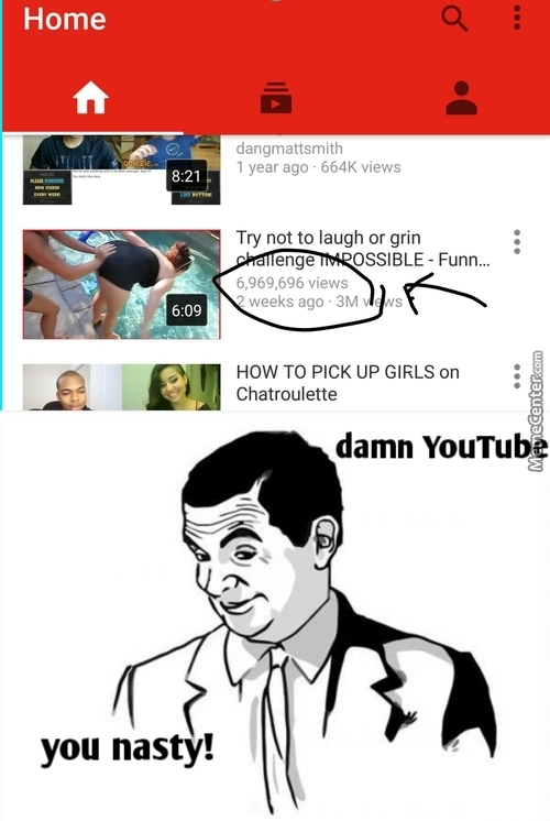 Not Sure If Horny Viewers Or Horny Youtube....